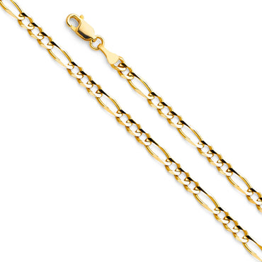 14KY Figaro 3+1 100 CH-0292 CHAIN NECKLACE
