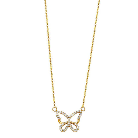 14K NECKLACE (NK106) NK-0106 Womens Necklace