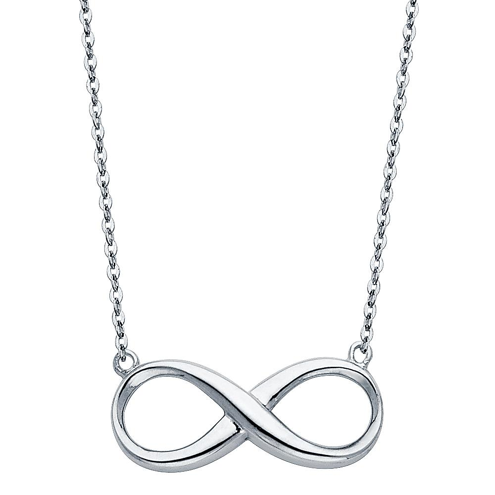 14KW INFINITY NECKLACE NK-0136 Womens Necklace