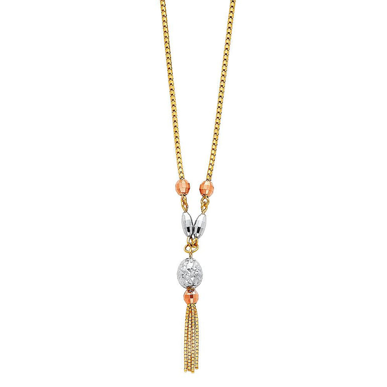 14KT LIGHT HANGING NECKLACE (NK75) NK-0075 Womens Necklace