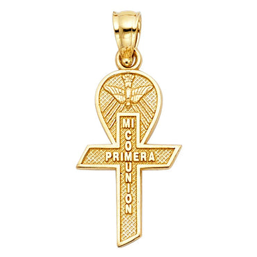 14KY COMMUNION CROSS PEND SMALLCROSS PENDANT PT-0250