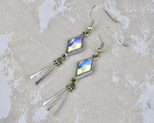 Load image into Gallery viewer, Berlynne Fringe Earrings - Crystal AB