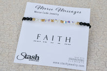 Load image into Gallery viewer, Morse Messages Bracelet - Faith