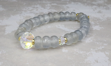 Load image into Gallery viewer, Erin Bracelet - Swarovski Crystal and Stormy Quartz