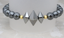Load image into Gallery viewer, The Lucy - Swarovski Crystal and Hematite Bracelet