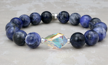 Load image into Gallery viewer, The Bethaney - Swarovski Crystal with Sodalite