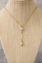 Load image into Gallery viewer, Swarovski Crystal Berlynne Y Necklace - Crystal AB