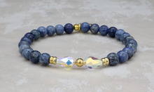 Load image into Gallery viewer, Ivy Bracelet - Dumortierite