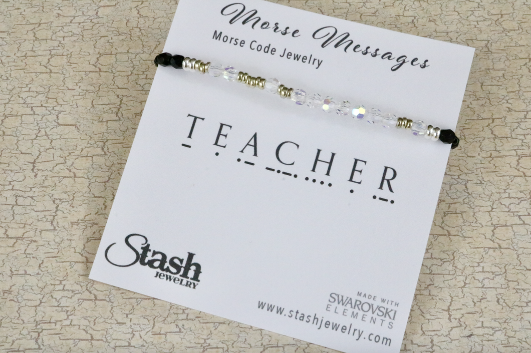 Morse Messages Bracelet - Teacher