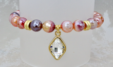 Load image into Gallery viewer, Josie Bracelet - Red Stripe Agate