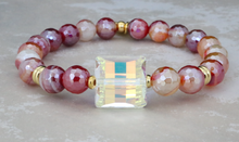 Load image into Gallery viewer, Sophie Bracelet - Red Stripe Agate