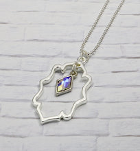 Load image into Gallery viewer, Swarovski Crystal Ella Necklace - Crystal AB