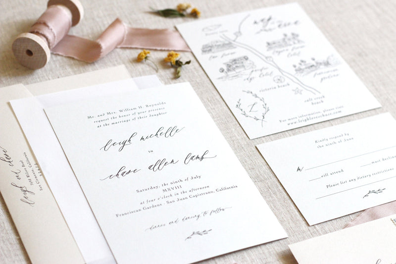 Leigh // Romantic Vellum Suite