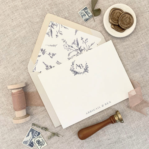 French Provence Set // Personal Stationery