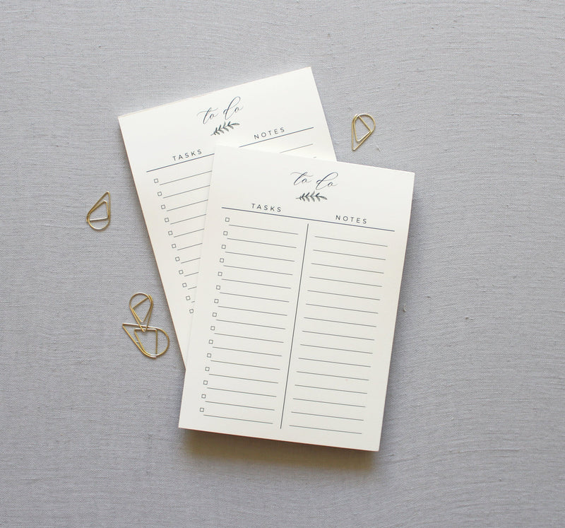 To Do // Desk Notepad