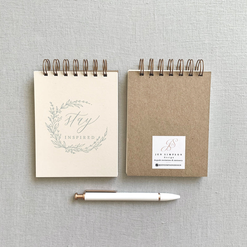 Stay Inspired // Mini Jotter