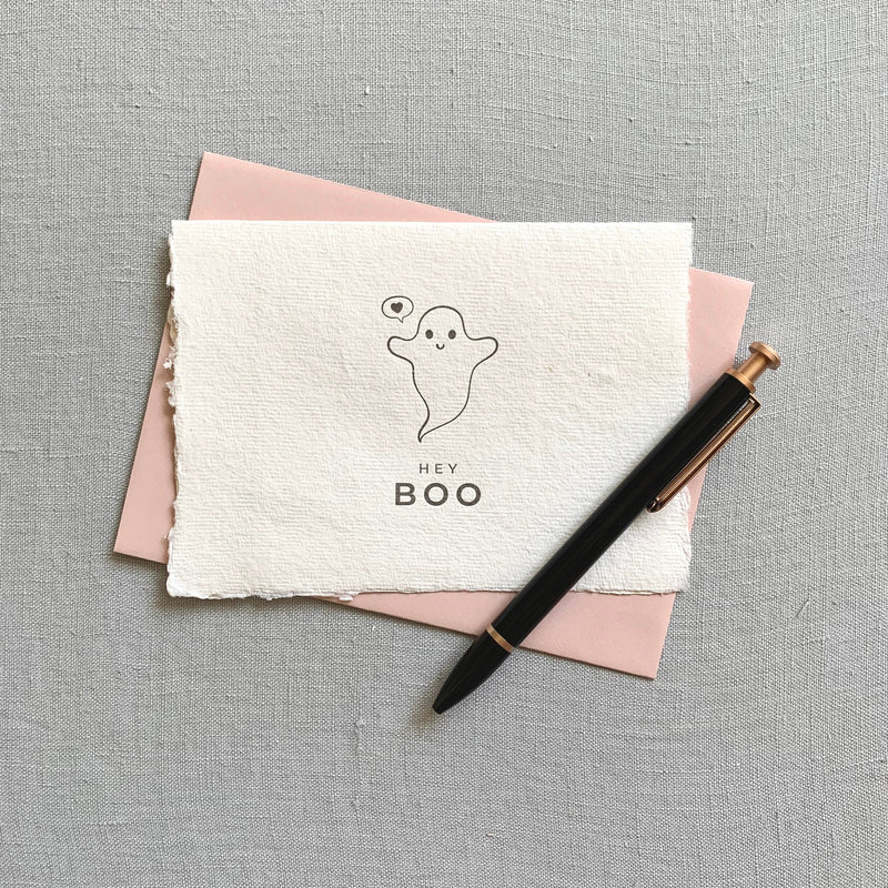 Hey Boo // Ghost Card