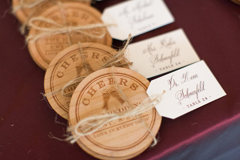 Personalized Wood Coasters