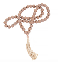 Load image into Gallery viewer, Tassel Decorative Blessing Beads - Blush