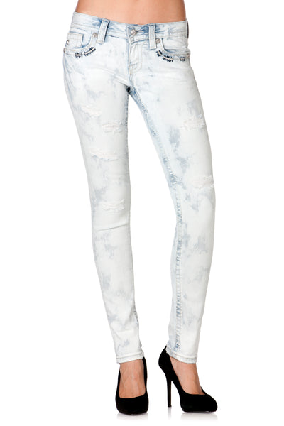 Misty Blue Skinny / Signature