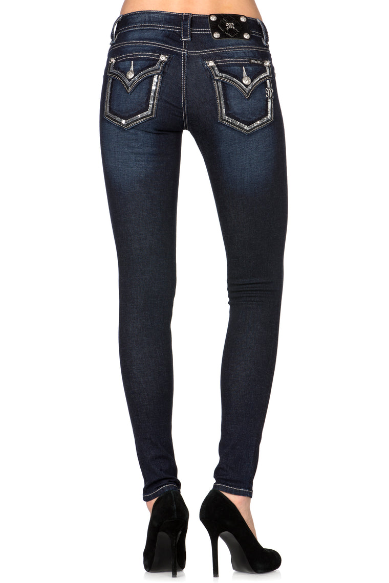 Sequine Jegging Skinny / Signature
