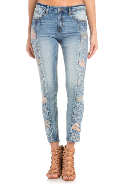 Carribean Cruising Ankle Skinny