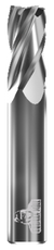 CARBIDE END MILL, FLAT, 4 FLUTE, 1''DIA, 1-1/2''LOC, 4''OAL EDP # 70237