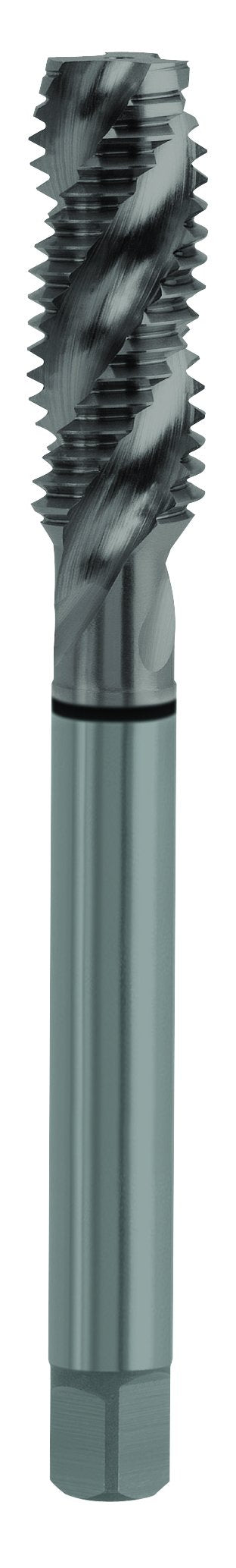3FL SPIRAL FLUTED STEAM OXIDE COMBO TAP 1/4-28, H4