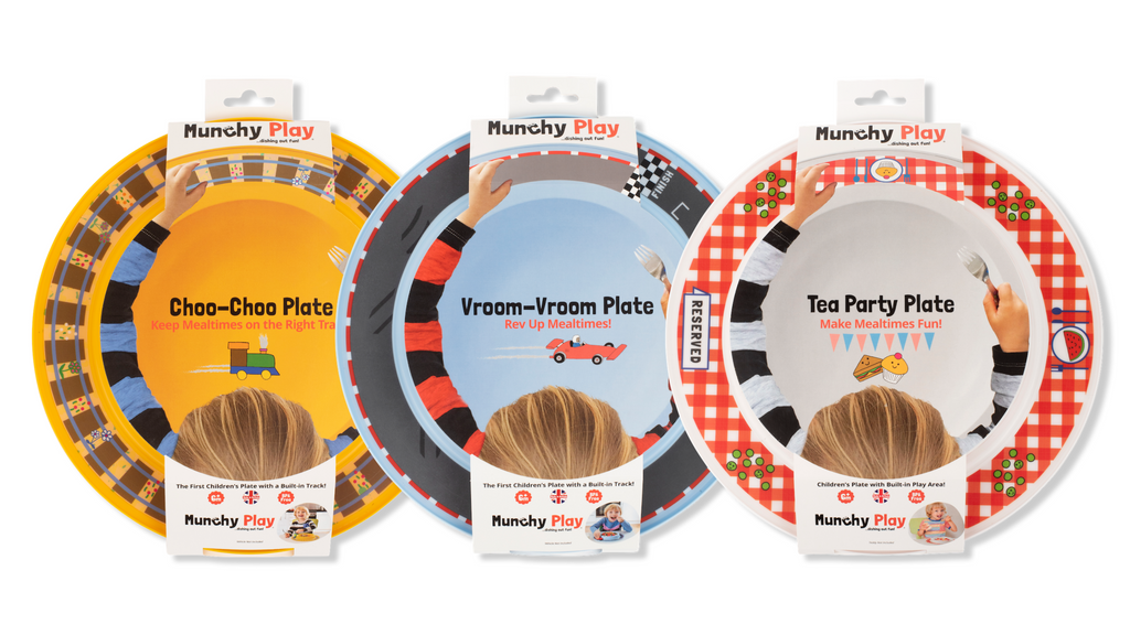 Keeping Mealtimes on the 'Right Track' Munchy Play Launches