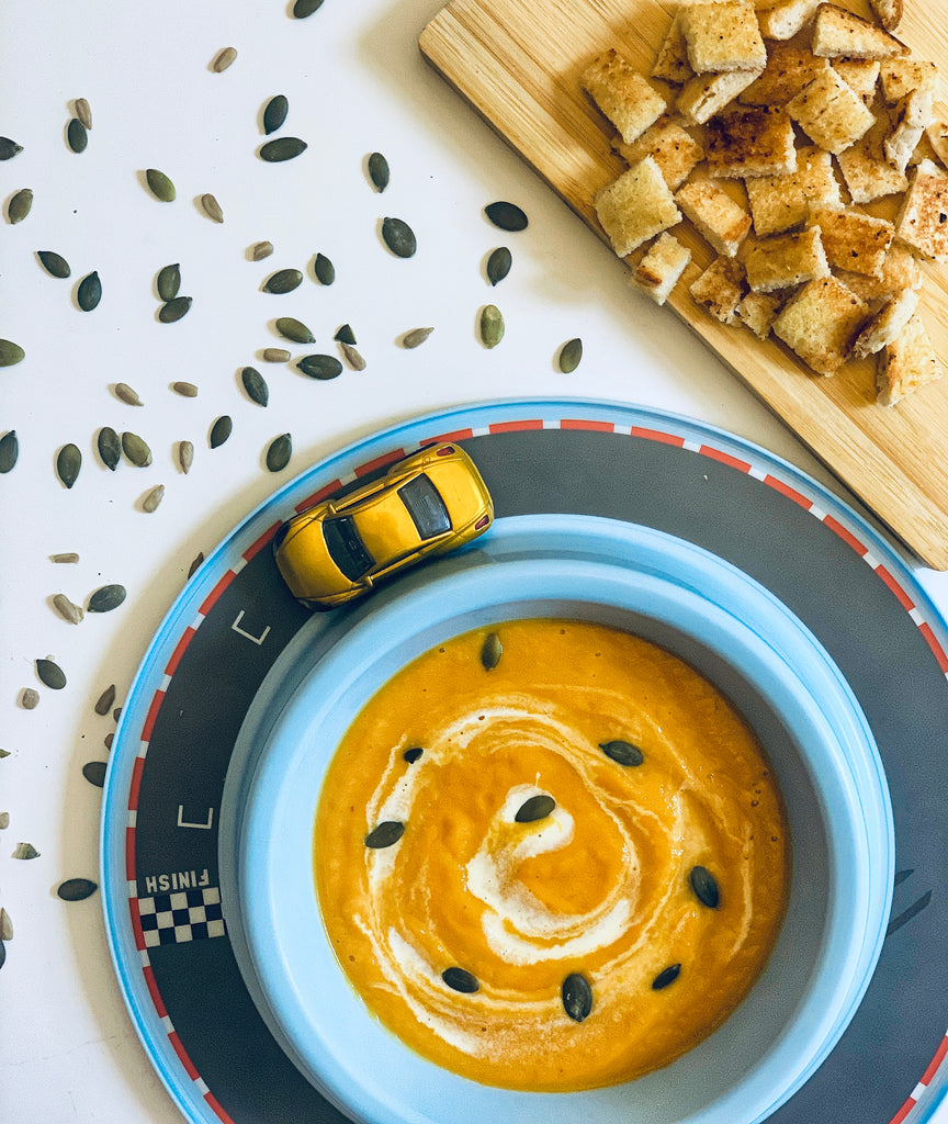 What to make with leftover pumpkin? Pumpkin soup of course!