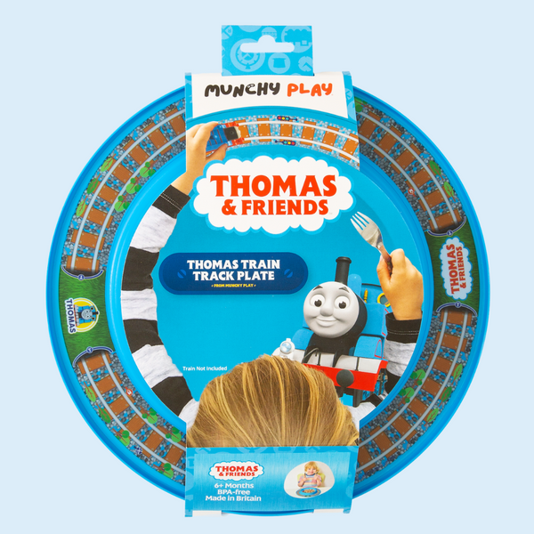 Thomas the tank engine plate gift
