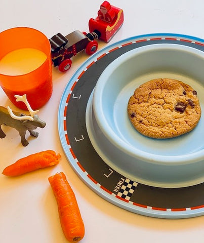 Munchy Play Vroom-Vroom plate