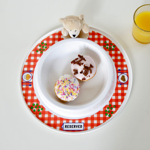 Munchy Play tea party plate for toddlers