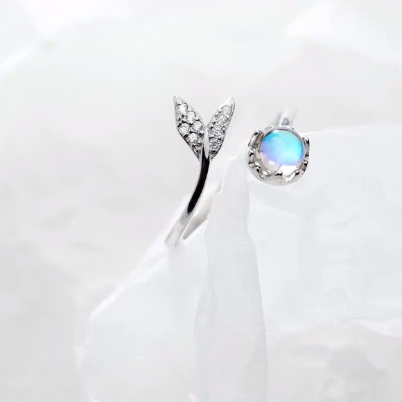 Mermaid Gem Stone Ring