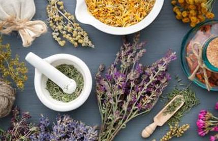 some botanical ingredients and herbs used to treat Acne rosacea