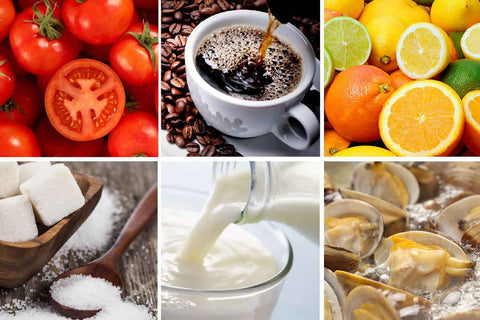 food that trigger rosacea like tomato coffee citrus