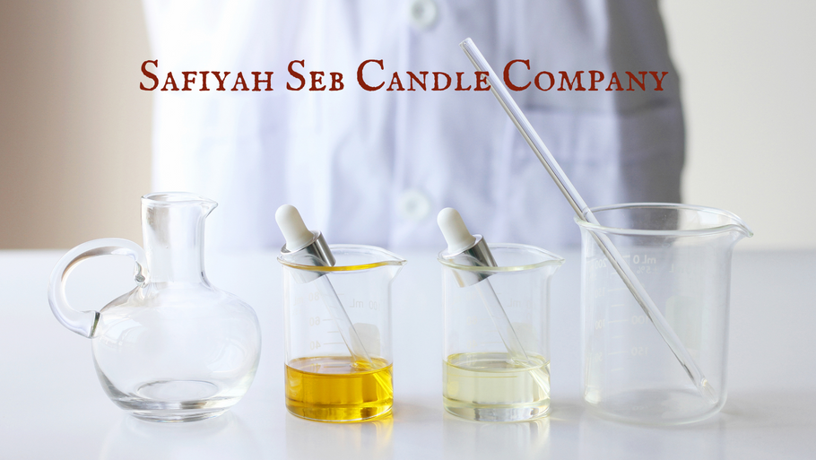 Safiyah Seb Candle Company is creating some of their own fragrances in 2021.