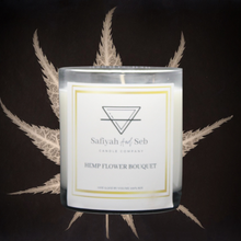 Load image into Gallery viewer, Hemp soy scented candle