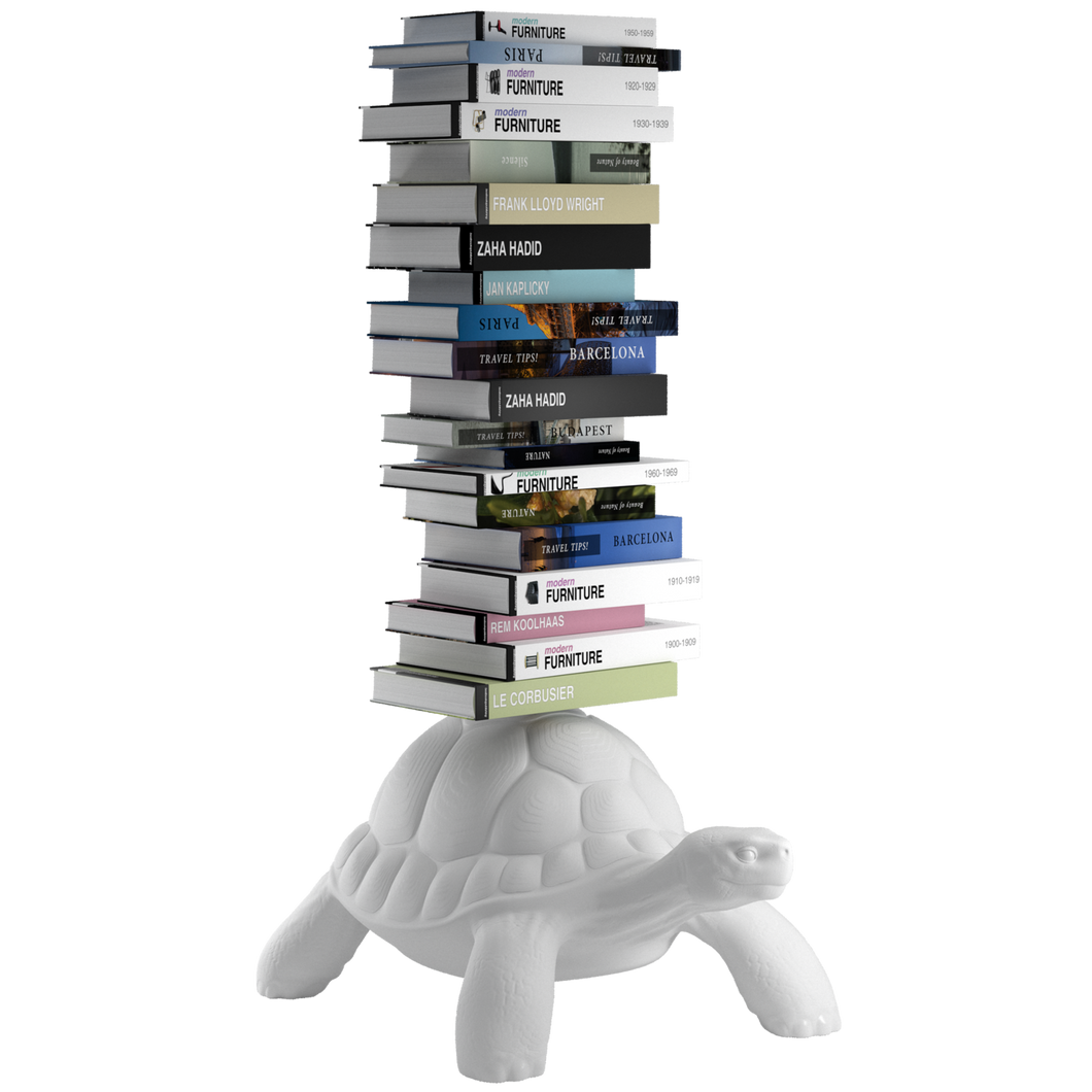 Bücherregal | Turtle Carry Bookshelf | White | Weiß