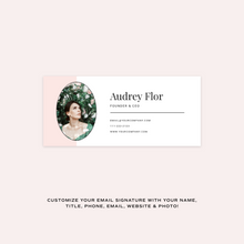Load image into Gallery viewer, Audrey Email Signature Collection