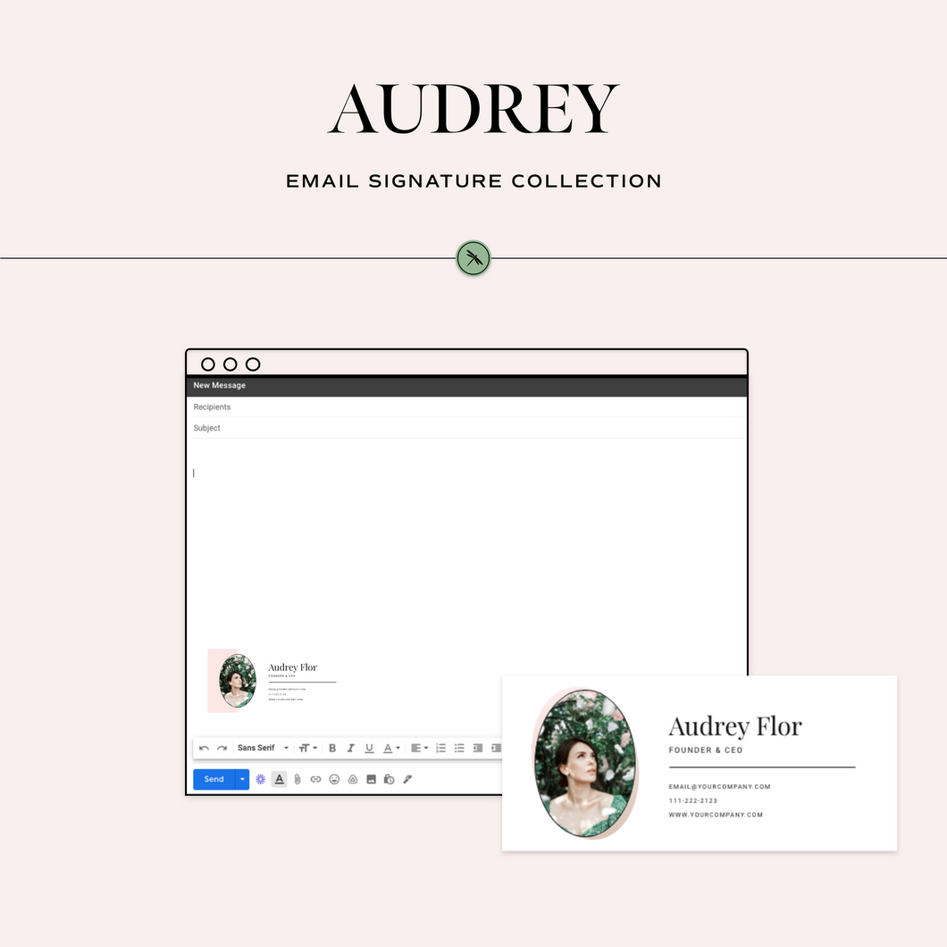 Audrey Email Signature Collection