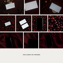 Load image into Gallery viewer, Berry Burgundy - Photo & Mockup Bundle