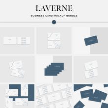 Load image into Gallery viewer, Laverne - Minimalist Business Card Mockup Bundle