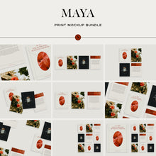 Load image into Gallery viewer, Maya - Print Mockup Bundle