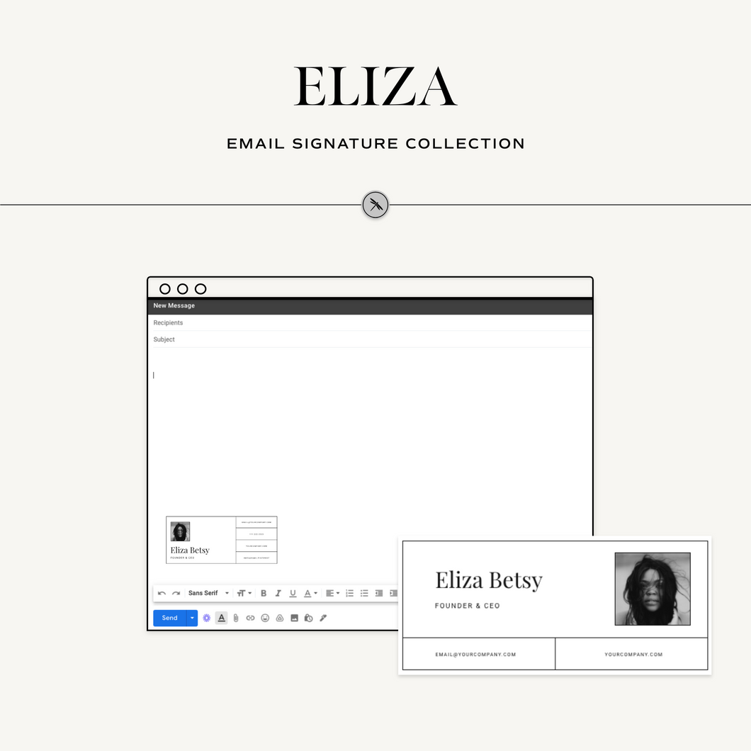 Eliza Email Signature Collection