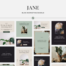 Load image into Gallery viewer, Jane - Blog Marketing Bundle