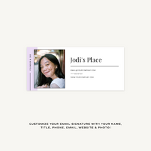 Load image into Gallery viewer, Jodi Email Signature Collection