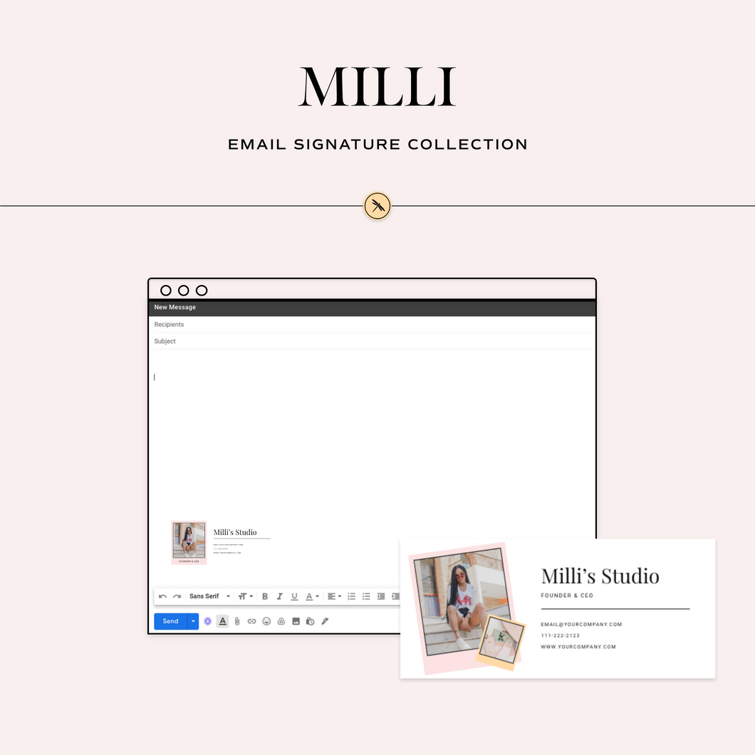 Milli Email Signature Collection