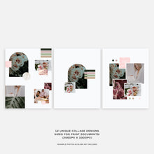 Load image into Gallery viewer, Rosa - Collage Mood Board Templates