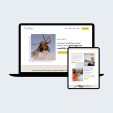 Load image into Gallery viewer, Sea Breeze Squarespace Template
